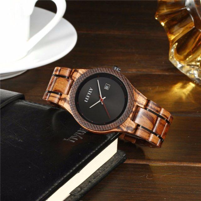 Dřevěné hodinky LEFTLY - Astor
