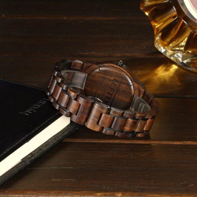 Dřevěné hodinky LEFTLY - Alby