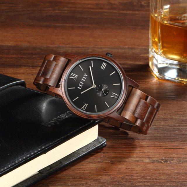 Dřevěné hodinky LEFTLY - Arif