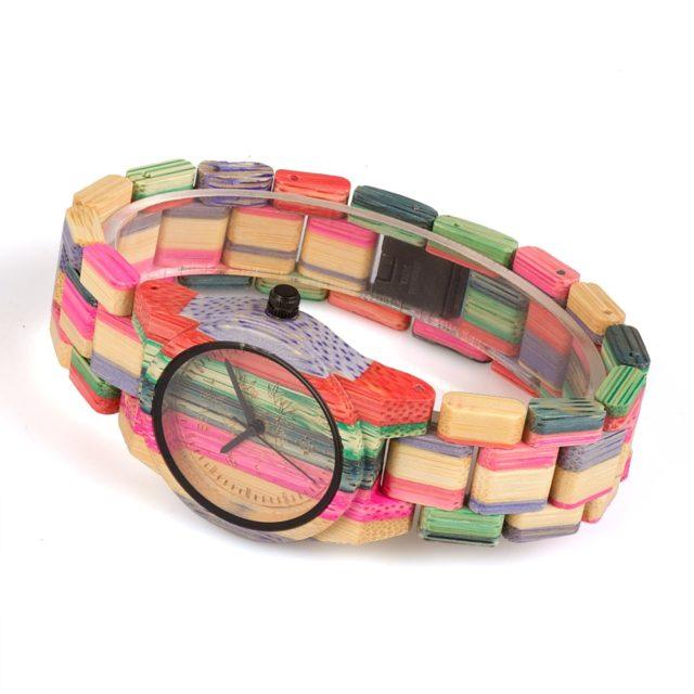Dřevěné hodinky BEWELL - Bessy