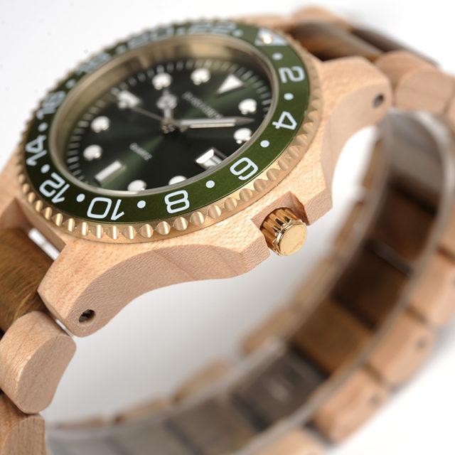Dřevěné hodinky BOBO BIRD - Dan