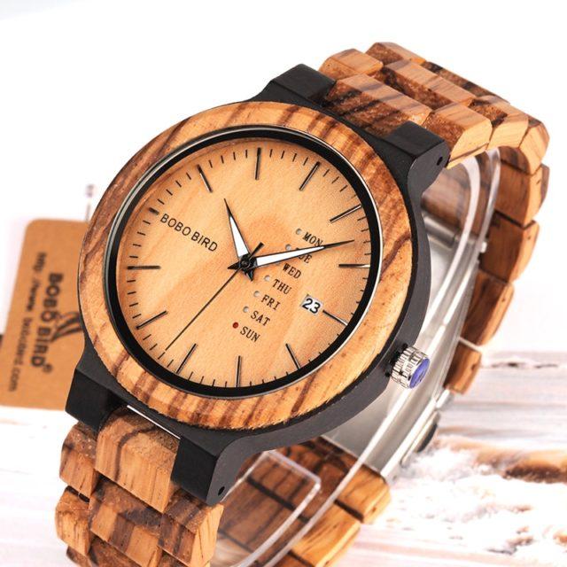 Dřevěné hodinky BOBO BIRD -Dag