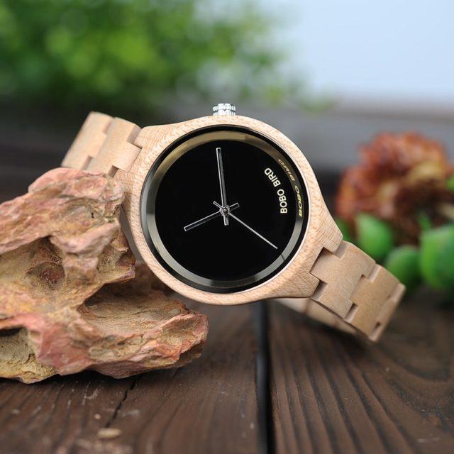Dřevěné hodinky BOBO BIRD - Asta