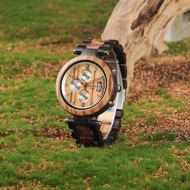 Dřevěné hodinky BOBO BIRD - Dasty