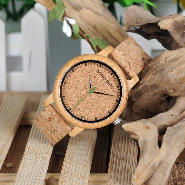 Dřevěné hodinky BOBO BIRD - Gerry