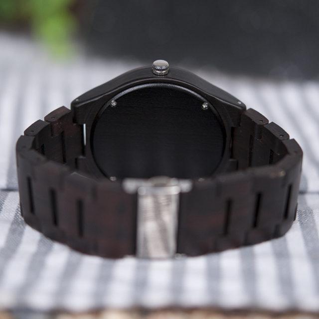 Dřevěné hodinky BOBO BIRD - Gary