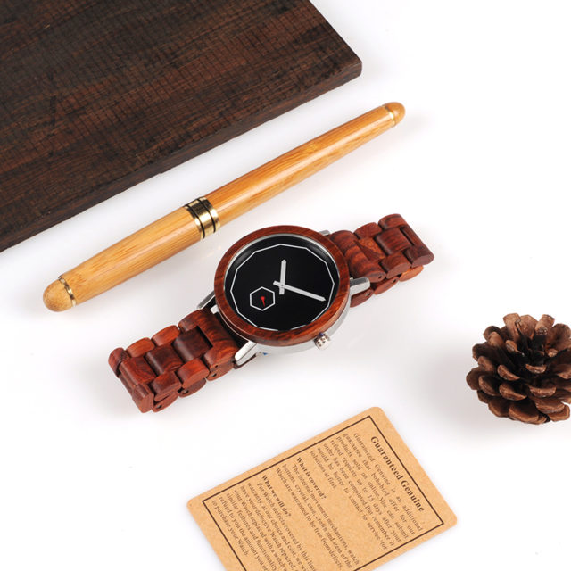 Dřevěné hodinky BOBO BIRD - Deril
