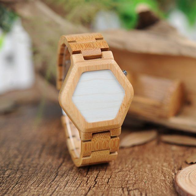 Dřevěné hodinky BOBO BIRD - Bonnie