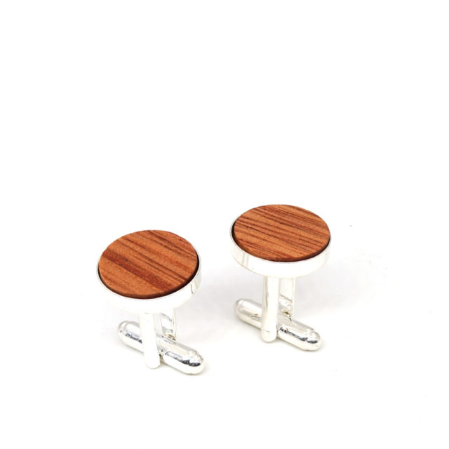 MAHOOSIVE Wood Men Cuff Links Luxury Brand Cufflinks High Quality Wedding Cufflinks For Mens French Cuff Buttons Fathers Day