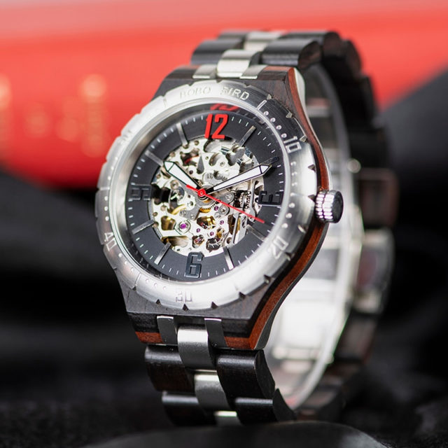 BOBO BIRD Mechanical Watches Men Waterproof Automatic Watches Top Brand Luxury Wristwatches orologi uomo automatico