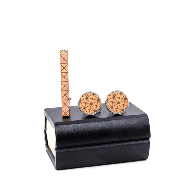 Classic Men Wood Tie Pin Clips of Style Tie Clips bar Jewelry Exquisite Wedding Tie Bar Wood accessories for Men Shirt Gift box