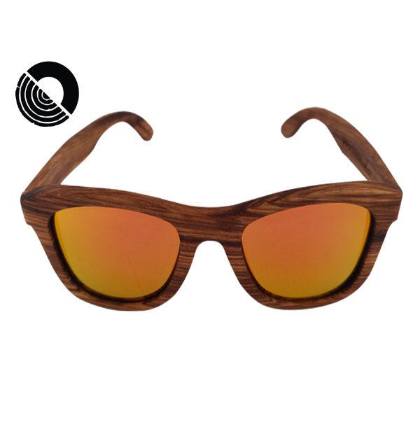 Bonwood limitované dřevěné sluneční brýle - Zebranno