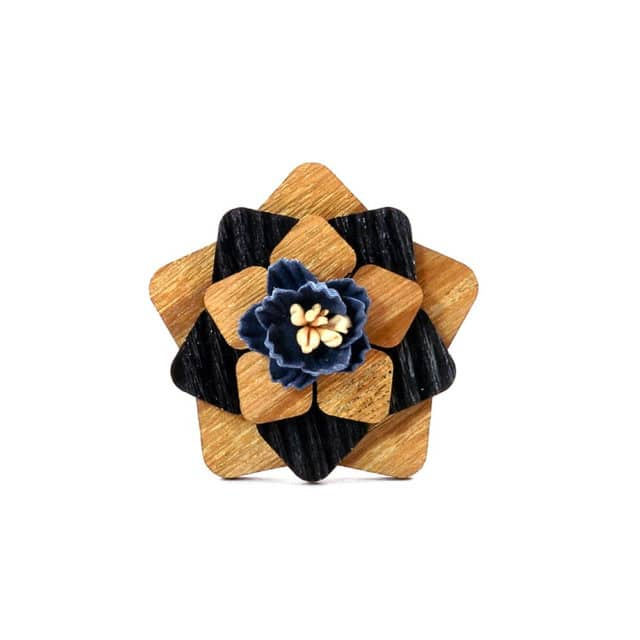 Women Men's Flower Lapel Pin Wedding Party Suit Dress Decoration Boutonniere Handmade Lapel Brooch Pin Gift for men