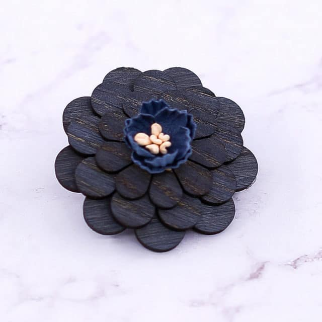2019 Wood pin Cute Woodland lapel pins Badges Brooches Lapel flower pin Fox jewelry Brooches for women MENS WEDDING decor