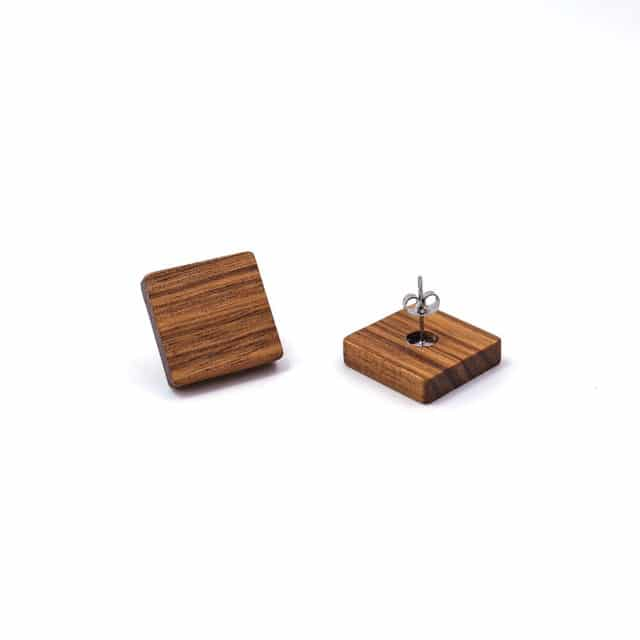 Dřevěné náušnice - Darlita